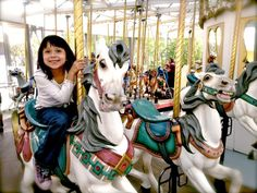 From the tallest carousel in the world to one set in the oldest playground in America, the Bay Area's collection of merry-go-rounds is top notch. Check out our list and take your family for a spin!