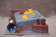 Bricklayer cake