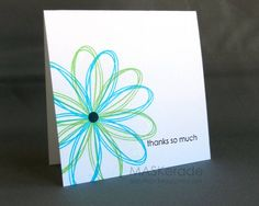OLW127 - Pinterest Inspired by Ardyth - Cards and Paper Crafts at Splitcoaststampers Square Card, Some Cards, Card Making Inspiration, Creative Inspiration, Card Sketches, Flower Cards, Greeting Cards Handmade, Creative Cards, Scrapbook Cards