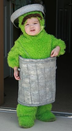 Oscar the Grouch.