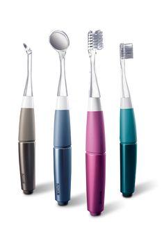 Butler mirolite, toothbrush, plastic, transparent, color