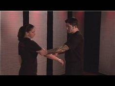 Women can escape an upper arm grab by lifting the arm up and pulling the elbow down. Learn how to escape from an upper arm grab in this free video on women's. Self Defense Martial Arts, Self Defense Women, Self Defense Techniques, Personal Safety, Good To Know, Survival, Arms, Youtube, Life Hacks