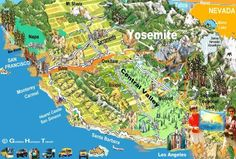Yosemite-Map-California
