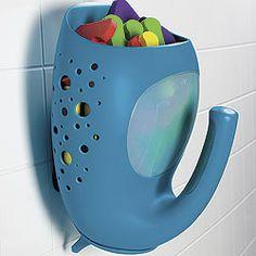 oxo whale bath toy organizer