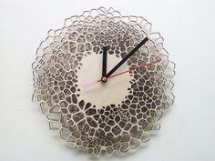 Giraffe clock - MEDIUM - laser cut wood