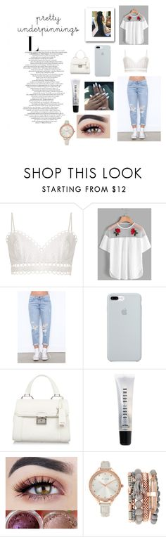"""""""Pretty Underpinnings Set#1"""" by shekb ❤ liked on Polyvore featuring Zimmermann, ETUÍ, Miu Miu, Bobbi Brown Cosmetics and Jessica Carlyle"""