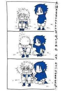 Sasunaru, Naruto Uzumaki Shippuden, Narusasu, Naruto Vs Sasuke, Naruto Comic, Naruto Cute, Naruto Kakashi, Naruto Pictures, Funny Naruto Memes