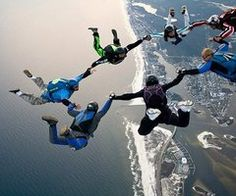 skydiving(: