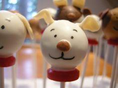 Puppy Dog Cake Pops | Cake Pop Insanity!