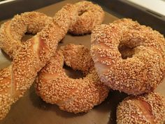 Greek Recipes, Bagel, Bread, Food, Entertaining, Cookies, Facebook, Meal, Biscuits