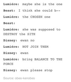 ewan as lumiere is my new favorite thing - Star Wars Funny - Funny Star Wars Meme - - ewan as lumiere is my new favorite thing The post ewan as lumiere is my new favorite thing appeared first on Gag Dad. Star Wars Jokes, Fangirl, Fandom Crossover, Disney Memes, Funny Disney, Ewan Mcgregor, Star War 3, The Force Is Strong, Bad Feeling