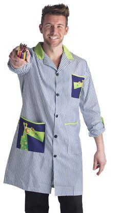 BA9928 JIRAFA MARINO CHICO - UNIFORMES EL DIDAL BY JOTI Apron Designs, Baby Shirts, Scrubs, Men Casual, Blouse, Illustration, Mens Tops, Inspiration, Fashion