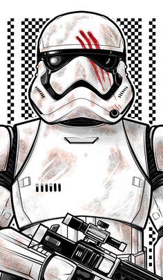 Stormtrooper Finn / Thuddleston