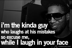 #Kid Cudi quote How I'm feeling right now.