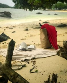 Sitting on the beach in Seychelles full of tranquility read your favorite book. Seychelles Islands, Another World, Photo Credit, Paradise, Beaches, Books, Relax, Travel, Holiday