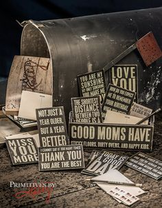 SHOW THEM YOU CARE! Send a wooden postcard through the mail to brighten their day!