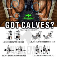 "2,397 Likes, 15 Comments - MuscleMorph® (@musclemorph_) on Instagram: ""✅ Got Calves?! Try this next time and tag a mate that could benefit from this. LIKE/SAVE & FOLLOW…"""