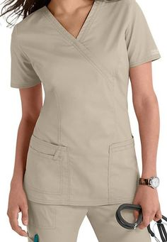 Cherokee Core Stretch Top Mock Wrap 4728 - Parker's Clothing & Gifts