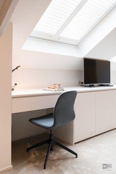 Attic Loft, Loft Room, Attic Rooms, Attic Spaces, Bedroom Loft, Cottage Renovation, Home Renovation, Loft Design, House Design