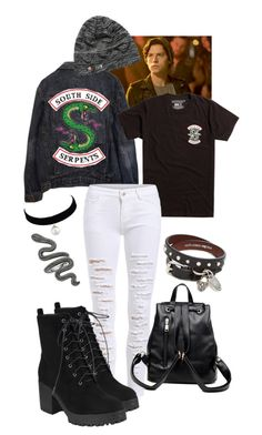 """Jughead's Girl"" by laineyroxs on Polyvore featuring art"