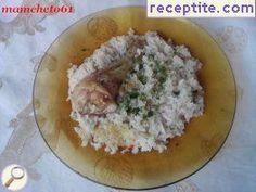 Пиле с ориз в халогенна фурна