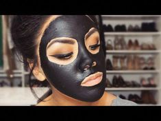 DIY Face mask recipe: How to Get Rid of Blackheads #AntiAgingMask Diy Charcoal Mask, Charcoal Mask Benefits, Face Mask For Blackheads, Get Rid Of Blackheads, Blackhead Mask, Blackhead Remover, Diy Mask, Diy Face Mask, Aloe Vera