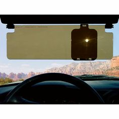 Sun Zapper Glare Shield. -$18.95- Makes your sun visor more effective The Sun Zapper Glare Shield picks up where your sun visor leaves off. Made of durable shatter-proof tinted polycarbonate, it clips easily to auto visors in seconds without tools. Flip it down for more coverage than your existing visor provides while maintaining visibility; flip it up when no longer needed.