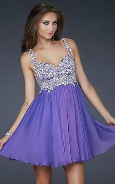 Purple homecoming dresses, chiffon homecoming dresses, cute homecoming dresses, charming homecoming dresses, cheap homecoming dresses,PD190398