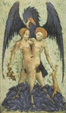Aurora consurgens  About 1420-1430 the division of sexes