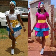 African Fashion Skirts, Skirt Fashion, Sepedi Traditional Dresses, South African Weddings, African Prints, Wedding Planning, How To Wear, Style, Swag