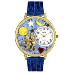 Gemini Watch in Gold (Large)