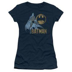 Batman - Knight Watch Short Sleeve Junior Sheer