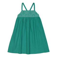 Isis Embroidered Sunbath Dress Hello Simone Children- A large selection of Fashion on Smallable, the Family Concept Store - More than 600 brands.