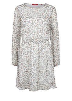 Crêpe-Kleid mit Allover-Print von s.Oliver. Entdecken Sie jetzt topaktuelle Mode…