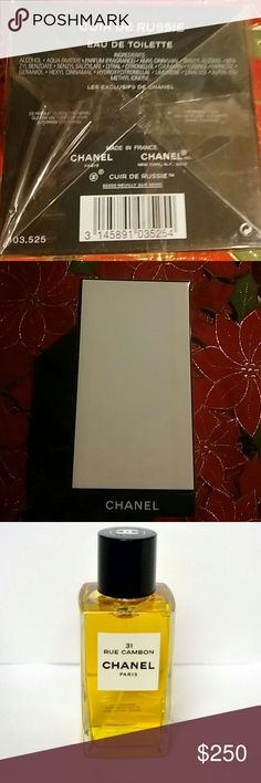 Chanel Cuir De Russie 6.8 FL OZ. 200ml Evocative of wild yet elegant world of Russia, this warm Oriental fragrance first composed by Master Perfumer Ernest Beaux in 1927 captivates with its sensual presence, expressing sumptuous leather and rich, exotic woods. New in box. CHANEL Other