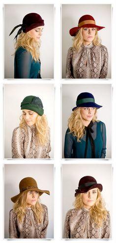 Hats! Love!