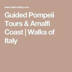 Guided Pompeii Tours & Amalfi Coast   Walks of Italy