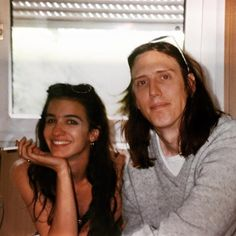 Rare, awesome Hole photos taken by legendary radio DJ Marco Collins in Amsterdam, 1993, Kristen with Eric