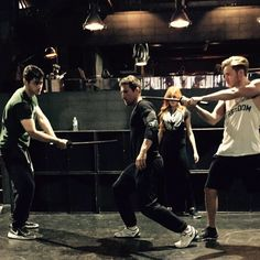 Watch out for #Shadowhunters...They're pretty killer... @ABCFamily @ShadowhuntersTV @domsherwood @MatthewDaddario . Pic via @mcgswonderland