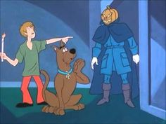 The Scooby Doo - The Headless Horseman of Halloween Synopsis: On Halloween, the gang takes Scooby-Dum with them to a Halloween party. Then the electricity goes out and the Headless Horseman appears wanting a head.