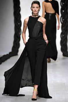 The interesting cut is very architectural and adds an interesting factor to the dress.