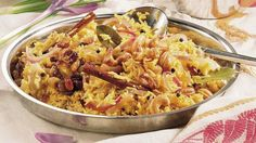 Basmati, the royal rice, finds an ideal partner in saffron, the world's most expensive spice.
