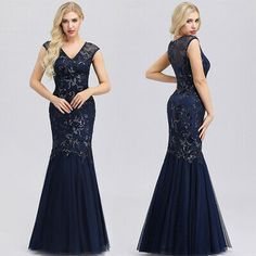 Ever-Pretty US Off Shoulder Evening Prom Dress Satin Holiday Celebrity Gown 7934