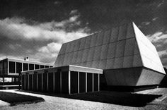 Georges Patrix and Claude Parent, House of Youth and Culture, Troyes, France, 1965