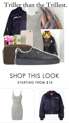 """""""Trill"""" by badleaa on Polyvore featuring Puma"""