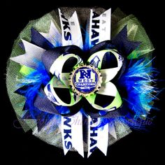 Seattle Seahawks NFC West Champions Deluxe by FavoriteThingsBows, $13.99