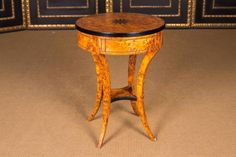 South German Side Table in Biedermeier Style For Sale at