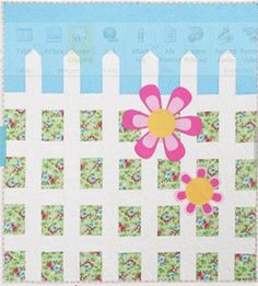 So cute for a baby's quilt!