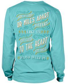 Alpha Delta Pi T-shirt.  Super Cute!