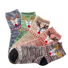 c806e4cab09fb 5 Pairs of Women's Thermal Socks $ 13.42 and FREE Shipping #cute #sock #